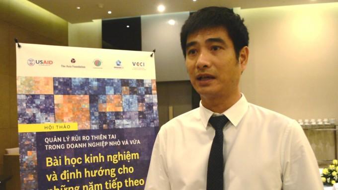 Ông Nguyễn Trí Thanh, Chuyên gia cấp cao, Quỹ Châu Á chia sẻ định hướng của Quỹ sau khi kết thúc dự án.