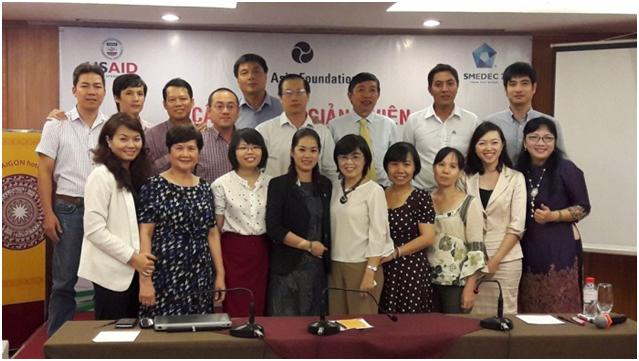 Thành lập và ra mắt Câu lạc bộ (CLB) Giảng viên Quản lý Rủi ro Thiên tai cho DNVVN (Disaster Risk Management Trainer Club) vào ngày 27/10/2016