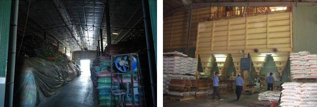 Kho xưởng nhà máy chăn nuôi Khánh Hòa