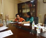Bà Mai Thị Hà – Trưởng phòng hành chính nhân sự - Công ty trách nhiệm hữu hạn Bình Phú - Bình Định