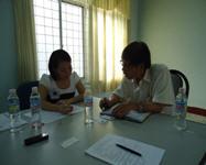 Ông Trần Văn Khiêm – Phó giám đốc công ty Giày Bình Định