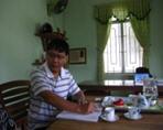 Ông Nguyễn Nam Hồng – Phó giám đốc Xí nghiệp chế biến lâm sản Hòa Nhơn - Đà Nẵng