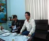Ông Nguyễn Thiên Phong – Giám đốc Nhà máy thức ăn chăn nuôi - Khánh Hòa